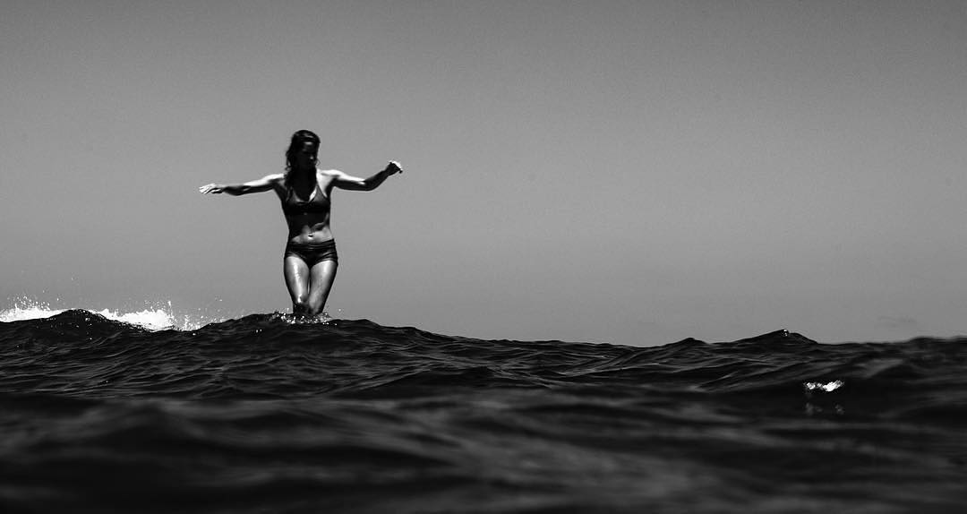 @tedfeeney - black and white surf shots of the week
