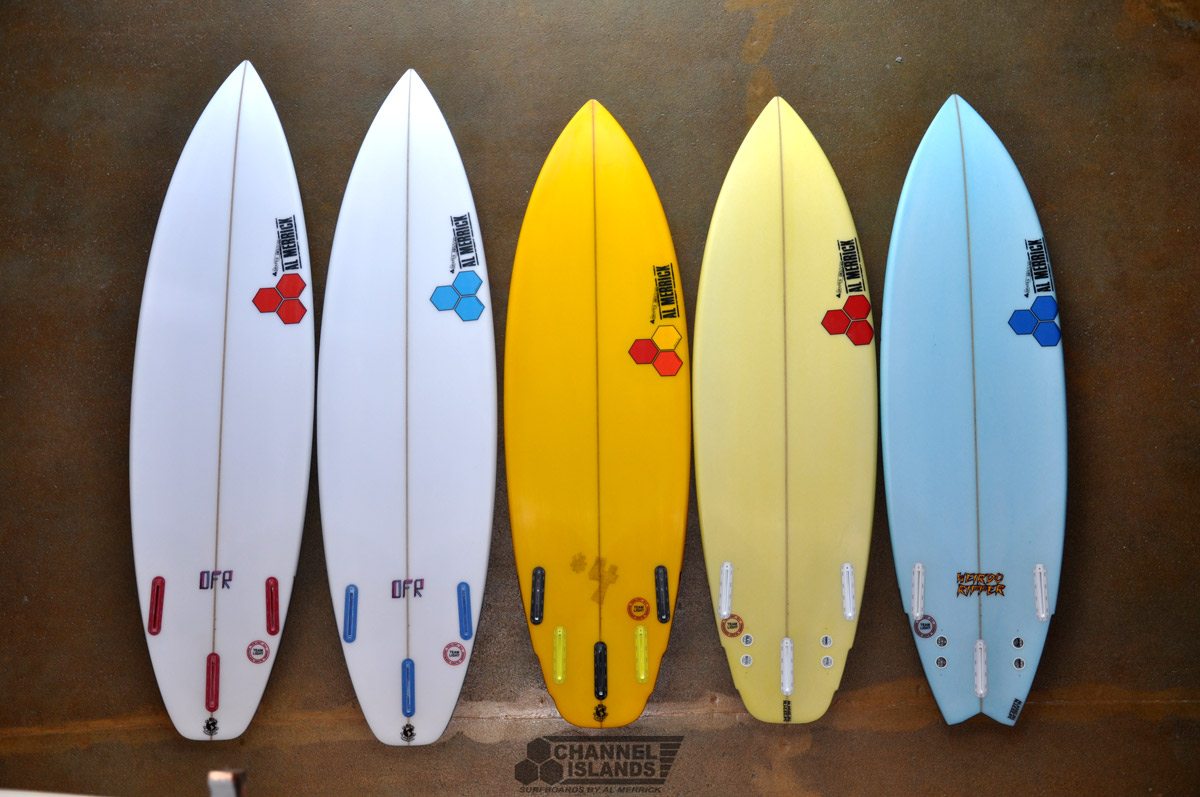Custom Designed Channel Islands surfboard Ultimate Christmas Presents For Surfer Girls