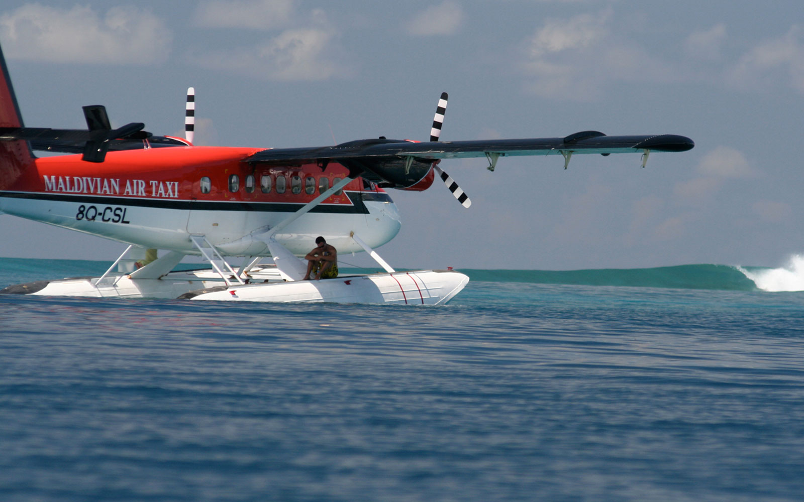 Seaplane Surf Safari around the Maldives. Ultimate Christmas Presents For Surfer Girls