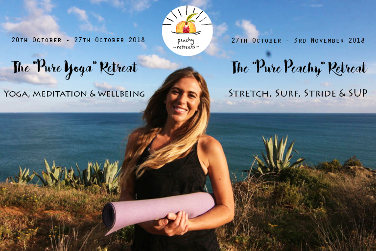 PeachyRetreats. Surf and yoga retreat in Portugal